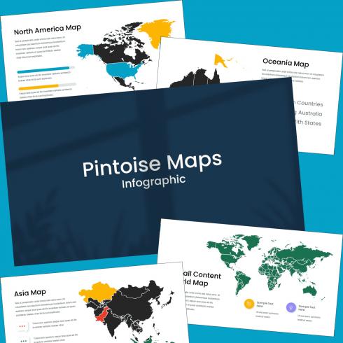 Maps Presentation: Powerpoint, Keynote, Google Slides.