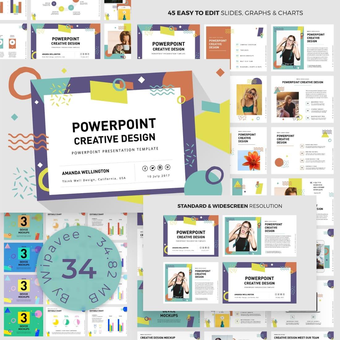 PowerPoint Creative Design Template by MasterBundles.