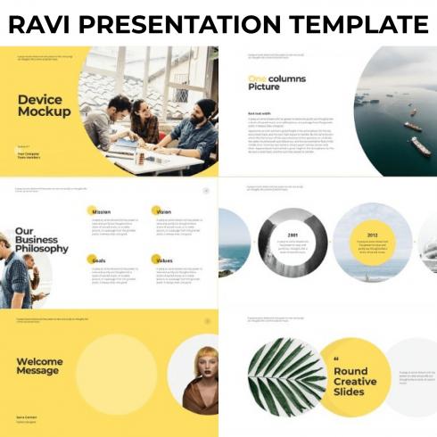 RAVI Presentation Template by MasterBundles.
