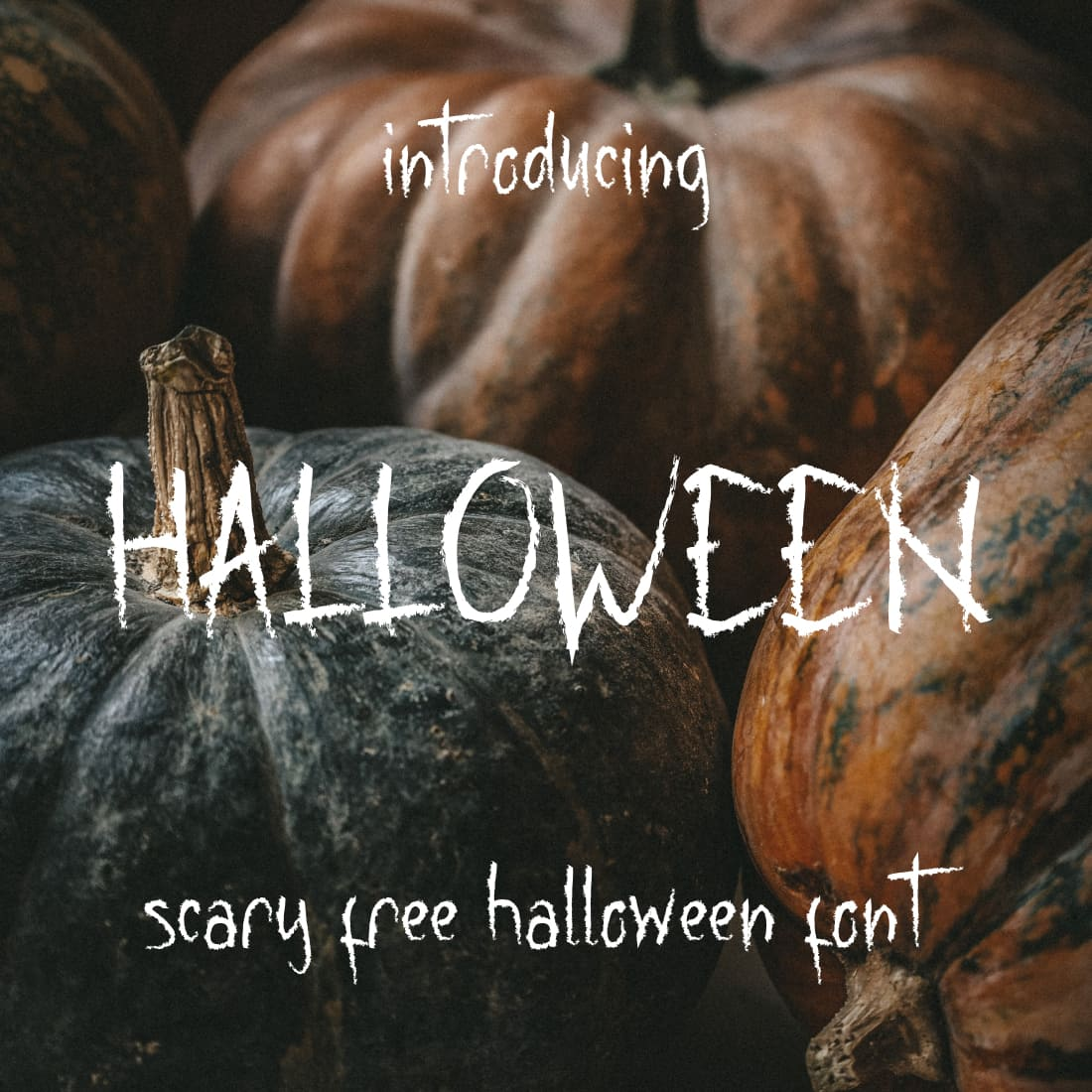 Main Preview image for Scarry free halloween font.