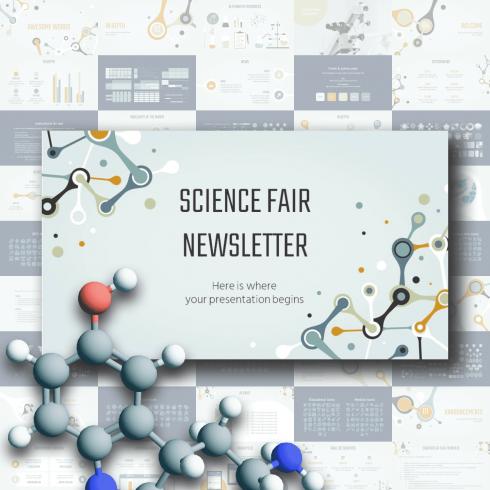 PowerPoint Science Fair Template.