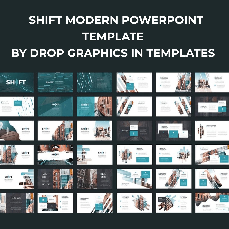 Shift Modern Powerpoint Template by MasterBundles.