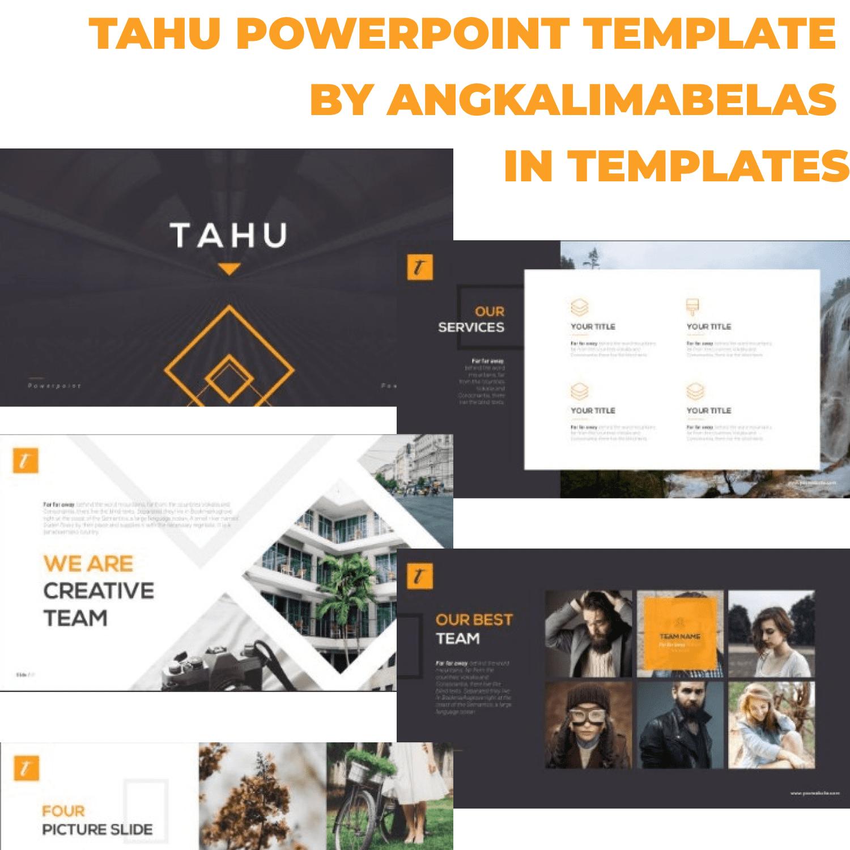 TAHU PowerPoint Template by MasterBundles.
