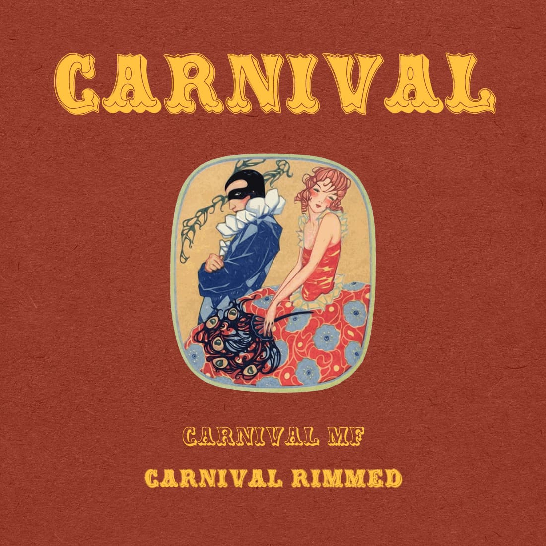 Cover preview for vintage carnival font free by MasterBundles.