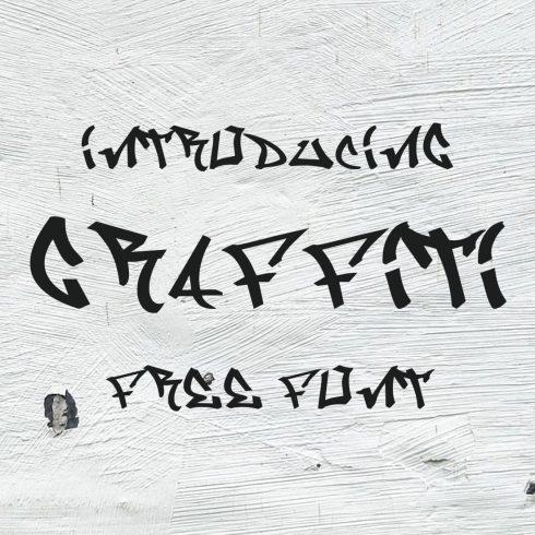 Main collage image for Graffiti Font Free by MasterBundles.
