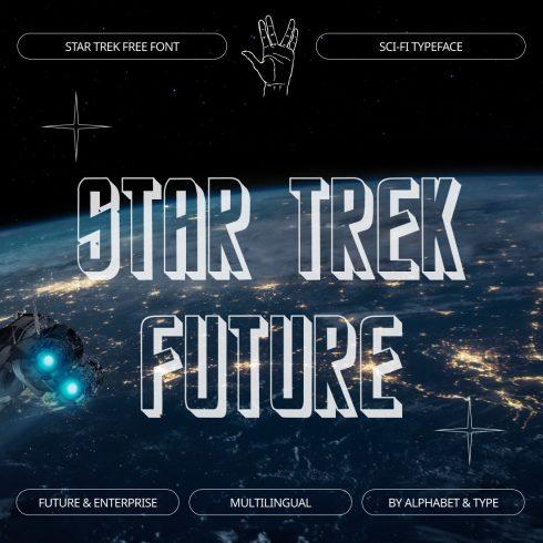 Star trek font free Introducing preview by MasterBundles.