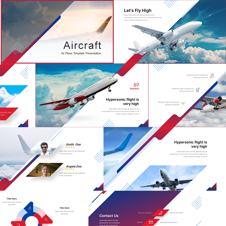 Aircraft Presentation by MasterBundles.