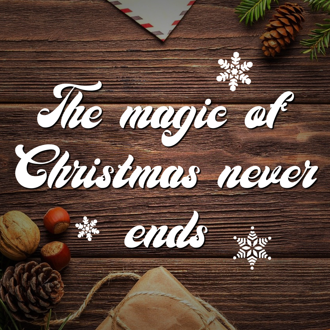Christmas Time Font Example Magic Preview MasterBundles.