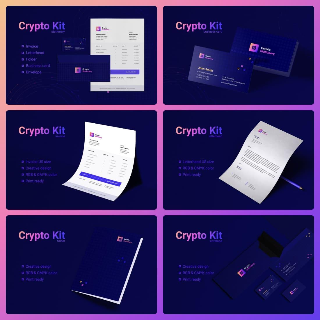 Crypto Stationary.