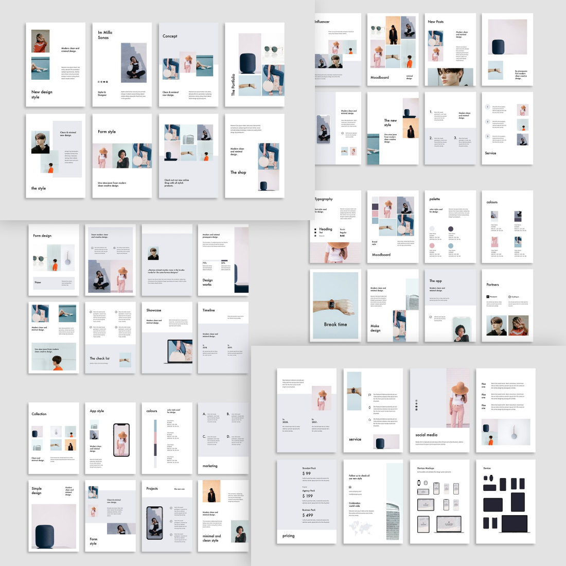 FORM - Powerpoint Vertical Template.
