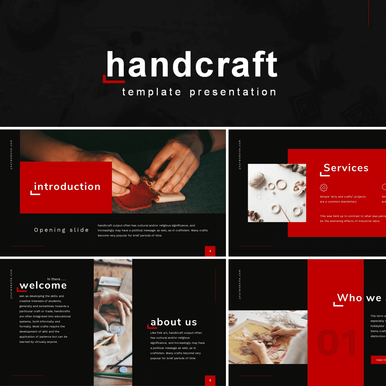 Handcraft Presentation by MasterBundles.
