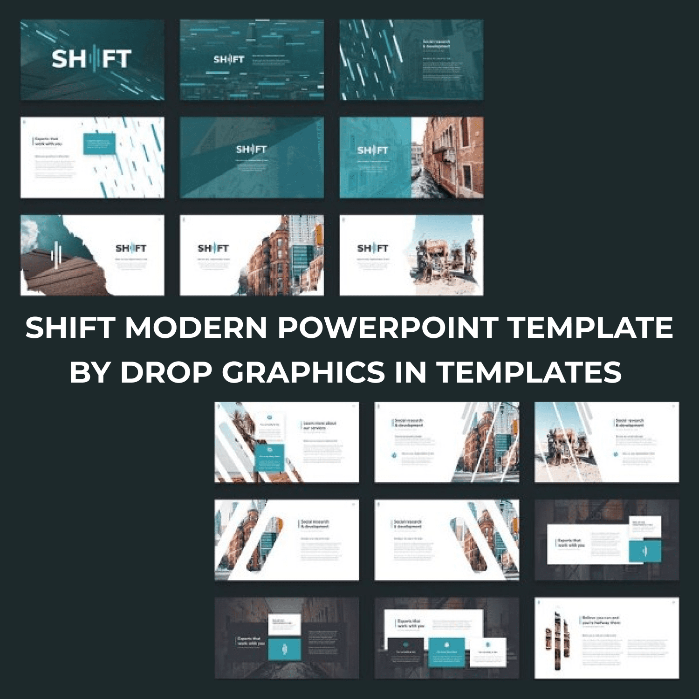 Shift Modern Powerpoint Template.