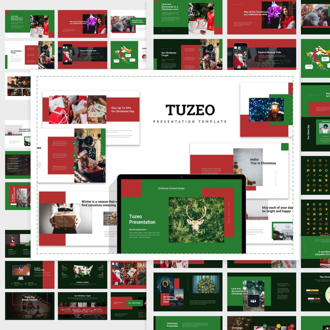 Tuzeo: Christmas Event Powerpoint.