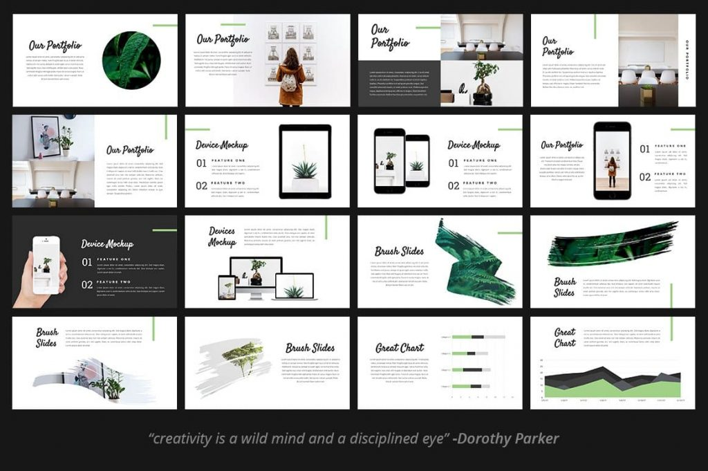 Fitri - Creative PowerPoint Template is highly customizable and fully editable.