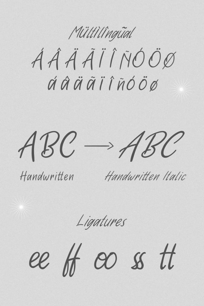 MasterBundles Pinterest image free font handwritten.