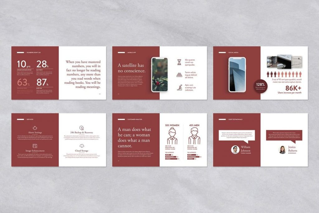 Fully customizable Pitch Deck Powerpoint Presentation layout.