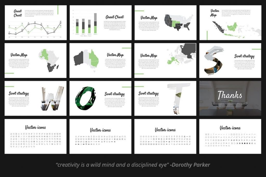 High Resolution Fitri - Creative PowerPoint Template.
