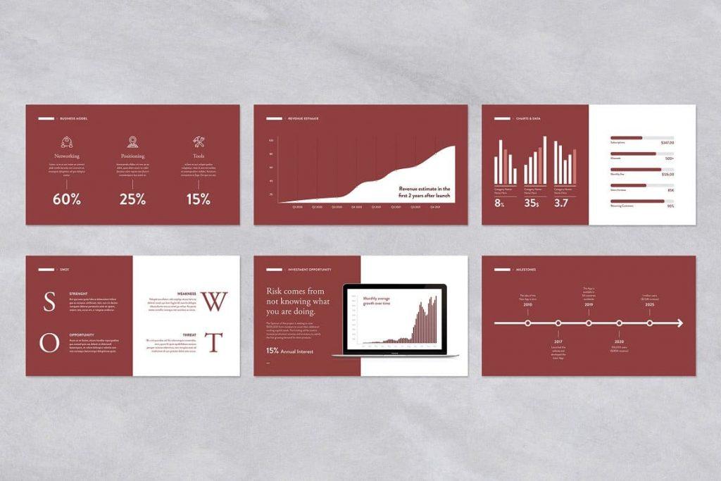 Pitch Deck Powerpoint Presentation of 35 slides.