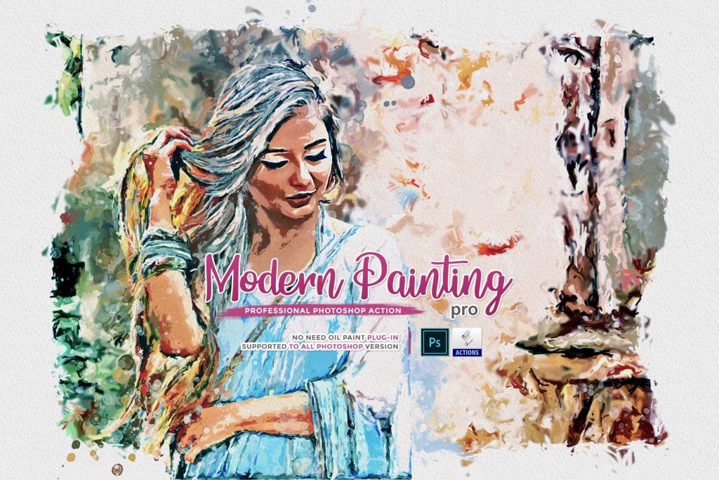 Modern Painting Pro. Modern Art Painting.