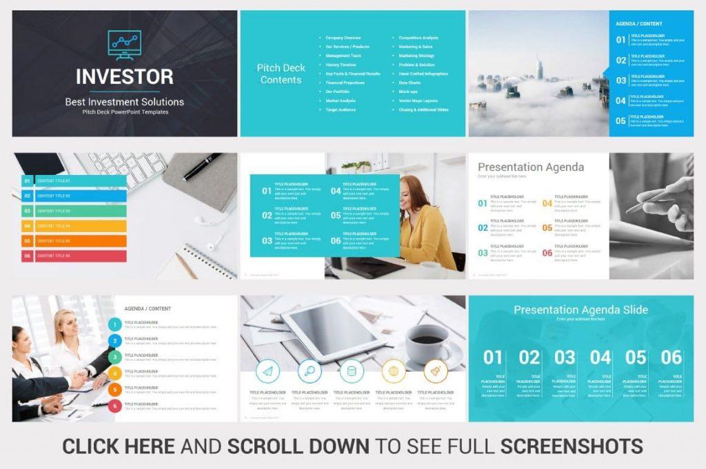 415 Unique Slides Investors PowerPoint Pitch Decks.