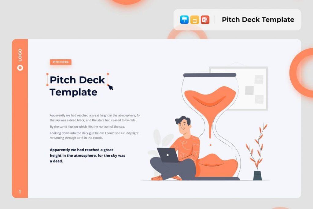 Pitch Deck Light Theme Pitch Deck & Presentation V3.0.