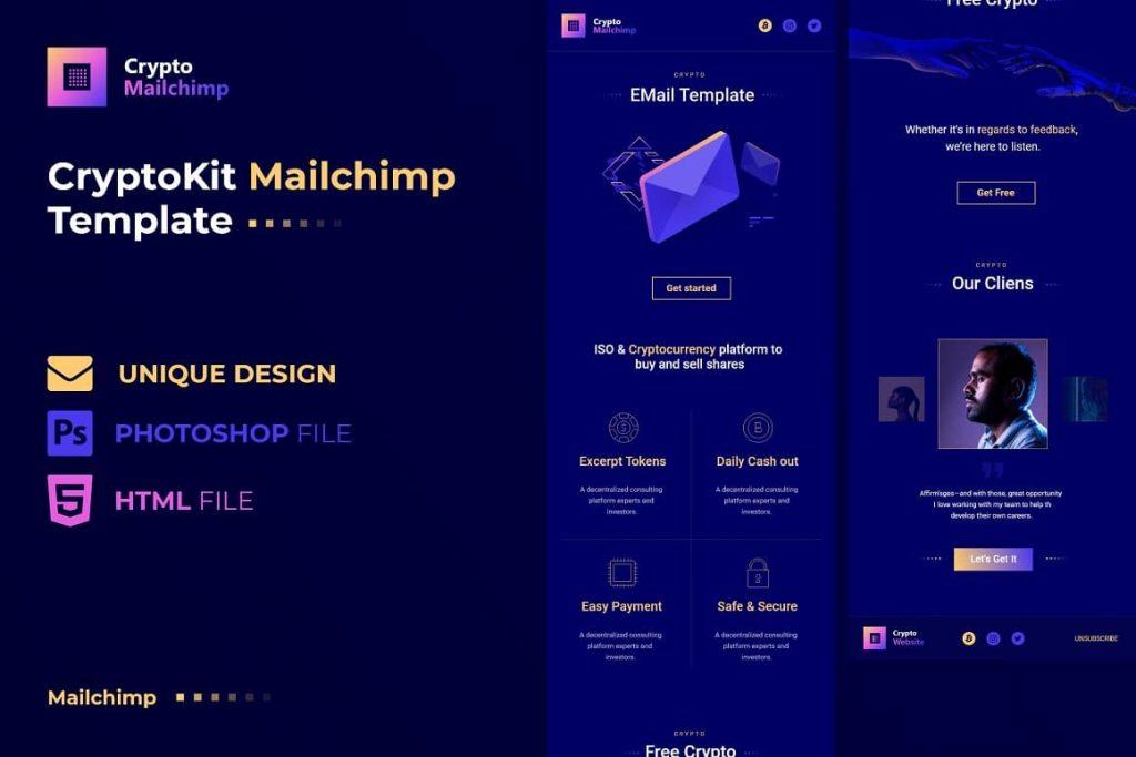 Crypto MailChimp cover.