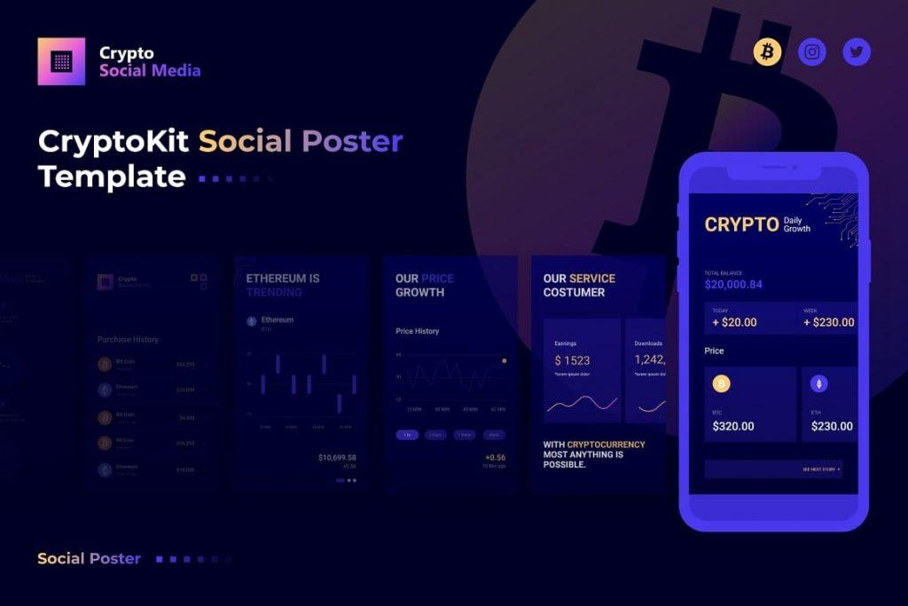 Cover of Crypto Social Media.