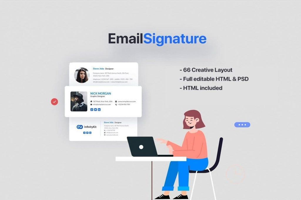 Cover for InfinityKit Email Signature v1.3.