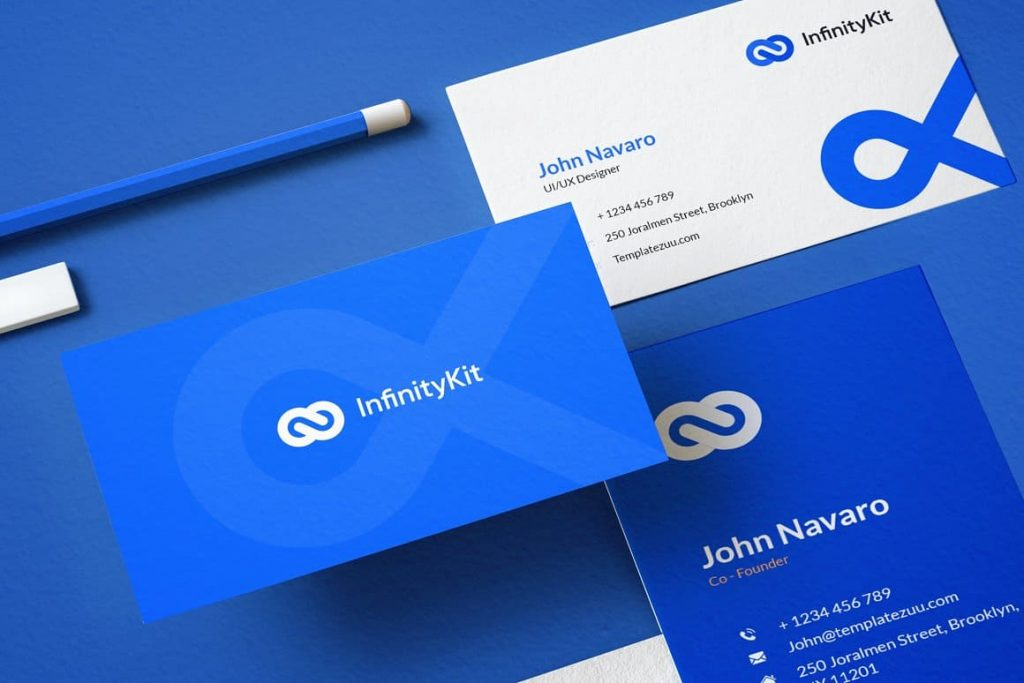 Business card InfinityKit Stationery.
