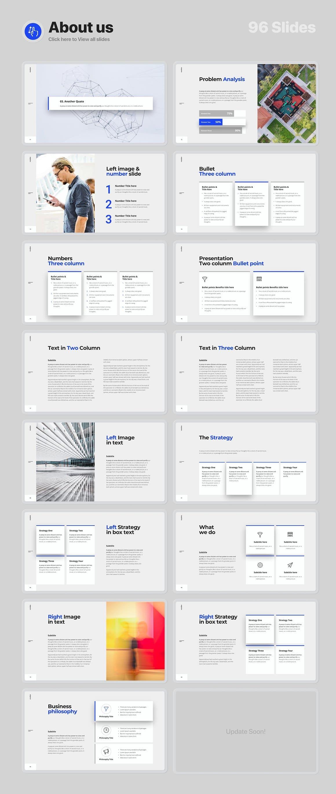 96 Slides About us part 3 Voodoo Presentation 4.0.
