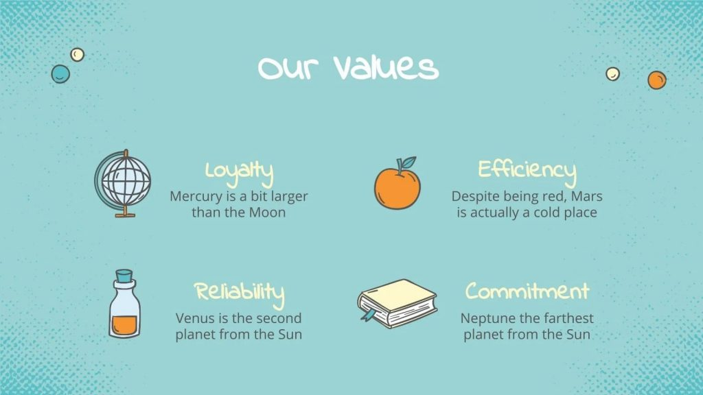 Describe your values as simply and clearly as possible.