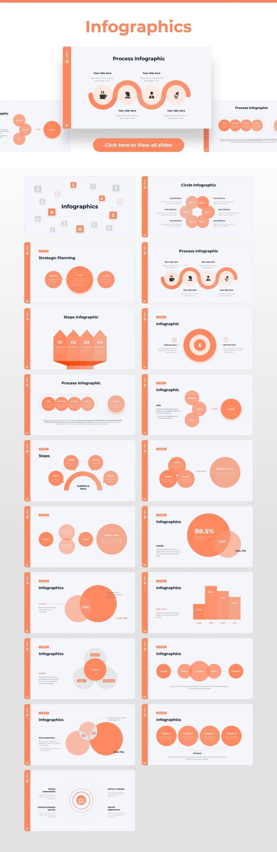 Slides from infographics Light Theme Pitch Deck & Presentation V3.0.