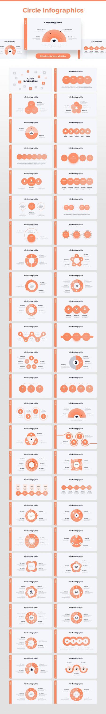 Slides from circle infographics Light Theme Pitch Deck & Presentation V3.0.
