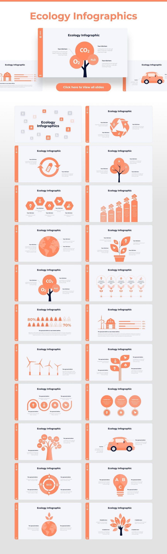 Ecology infographic Light Theme Pitch Deck & Presentation V3.0.