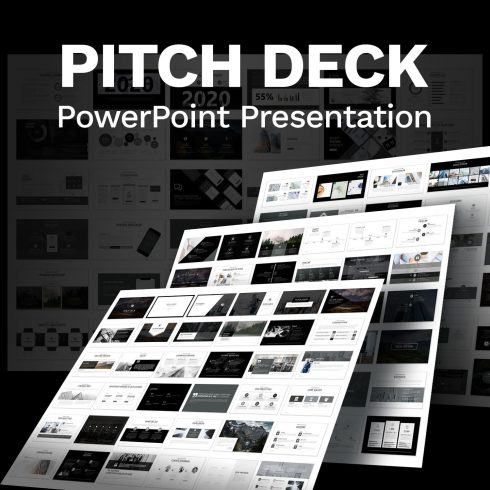 Pitch Deck - Presentation Dashboard by MasterBundles.