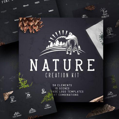 Nature Creation Kit: Logo, Elements.