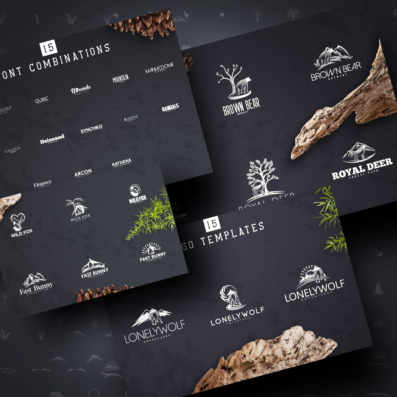 Nature Creation Kit: Logo, Elements cover image.