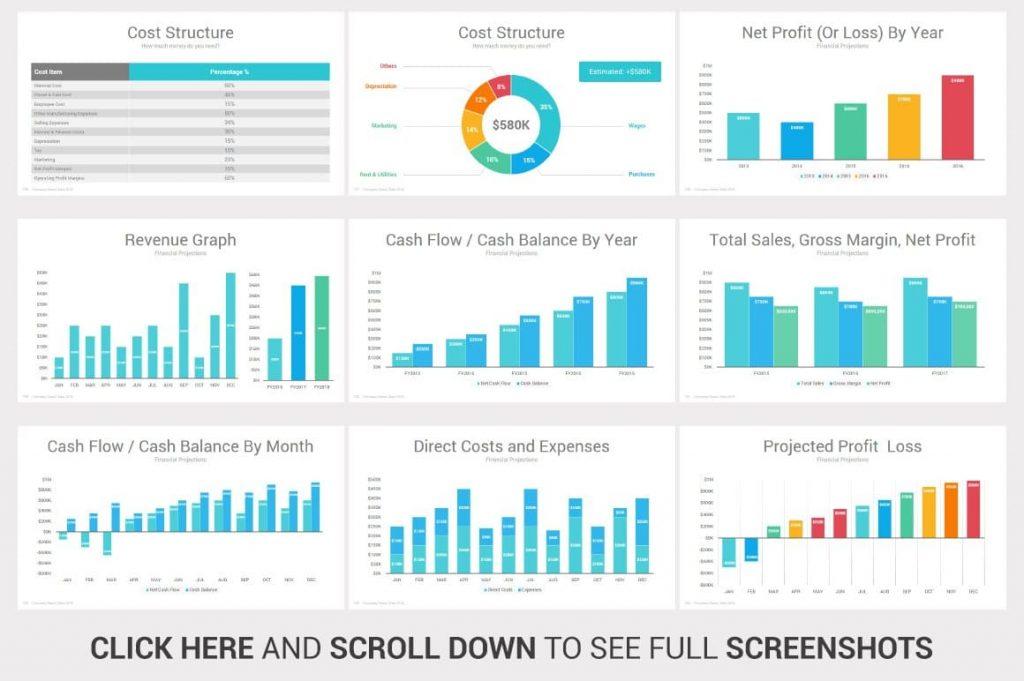 Investors PowerPoint Pitch Decks Chart Slides.