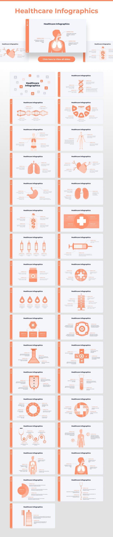 Healthcare infographic Light Theme Pitch Deck & Presentation V3.0.