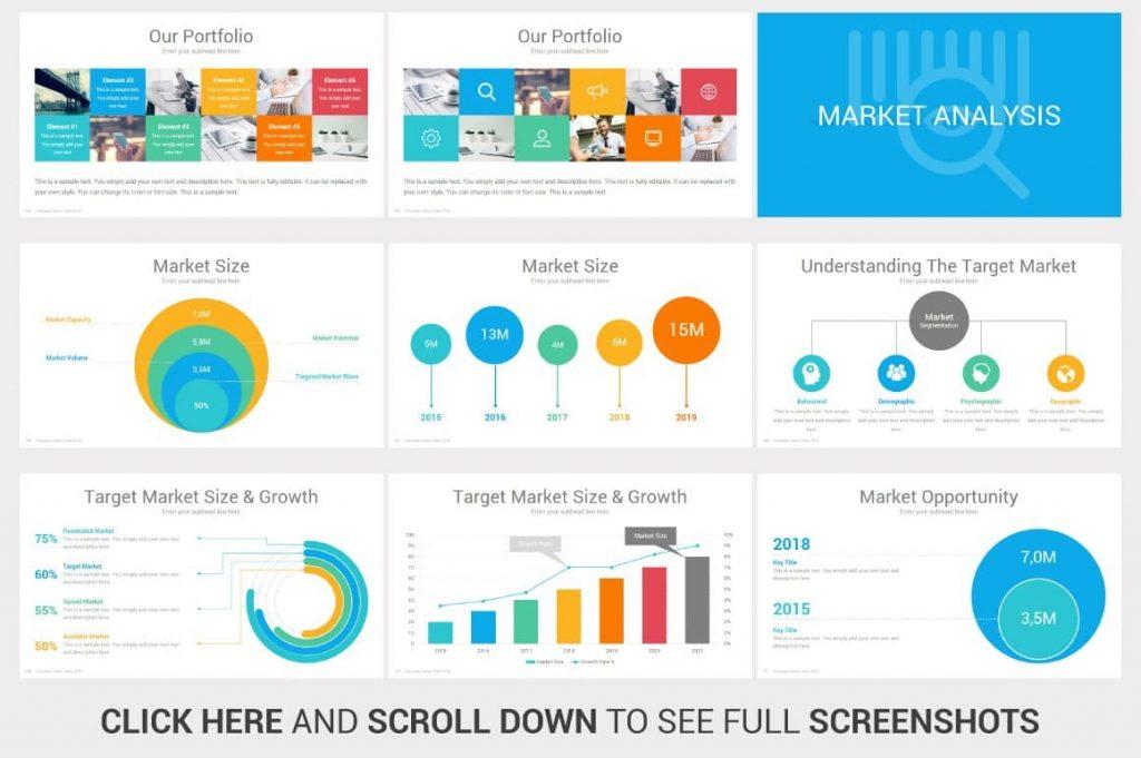 Market Analysis Investors PowerPoint Pitch Decks.