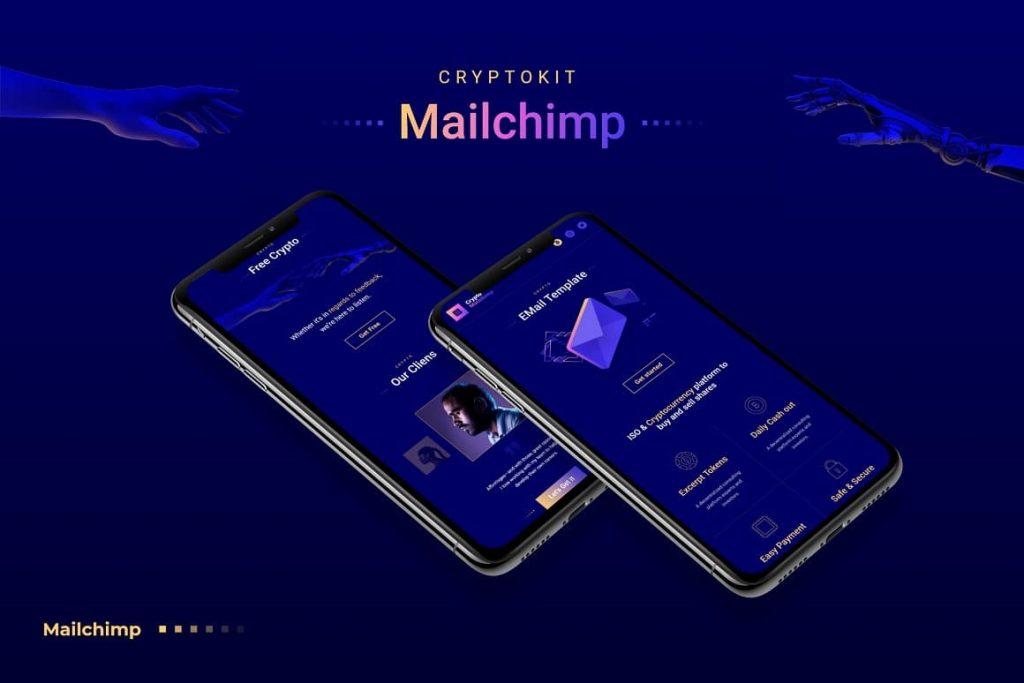 Mobile Preview Crypto MailChimp.