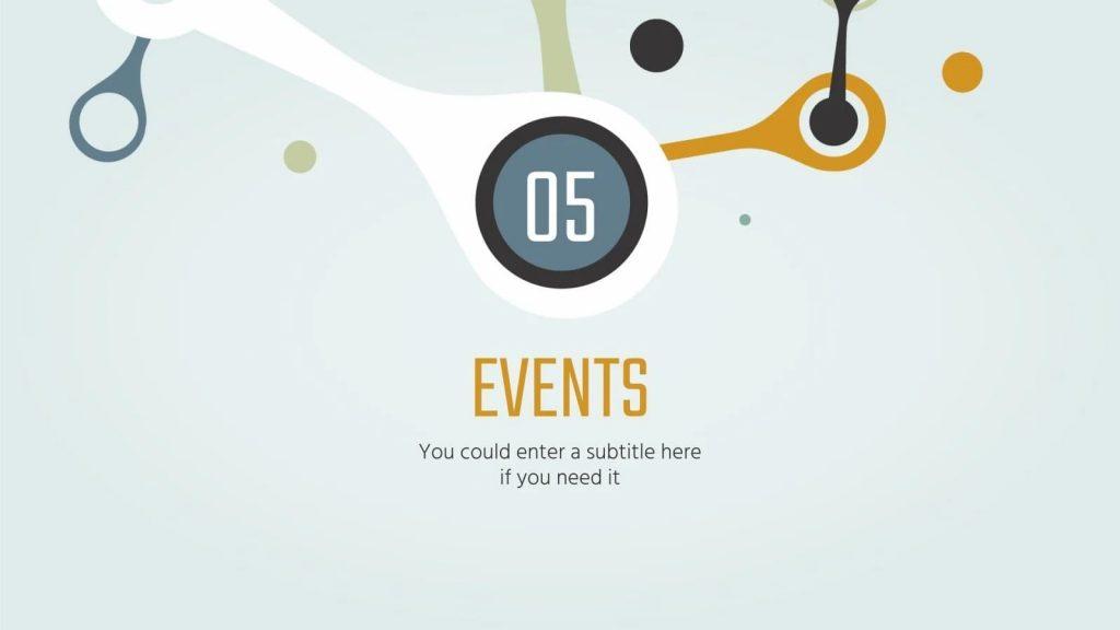 Slide Events.