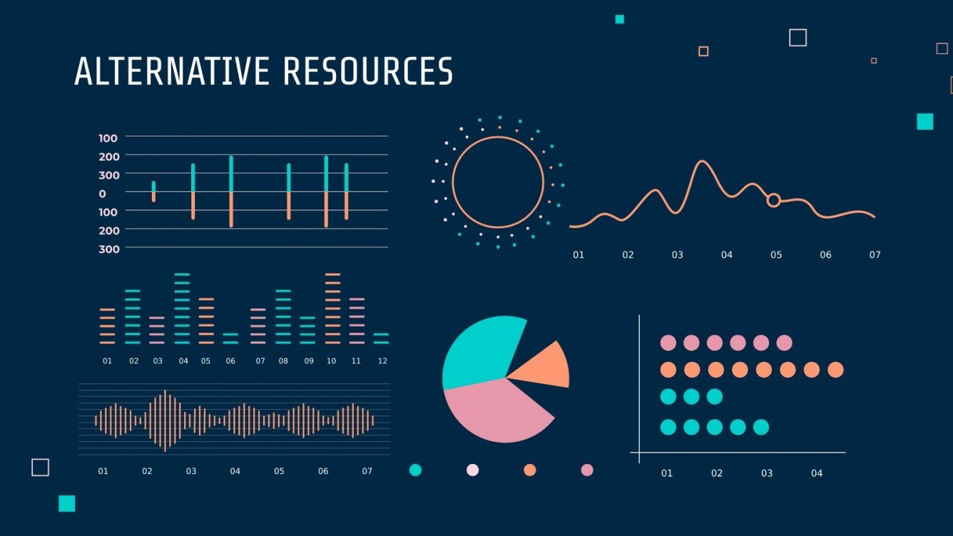 Very creative and bright infographics in different styles and shapes.