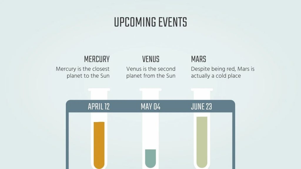 Slide Upcoming Events.