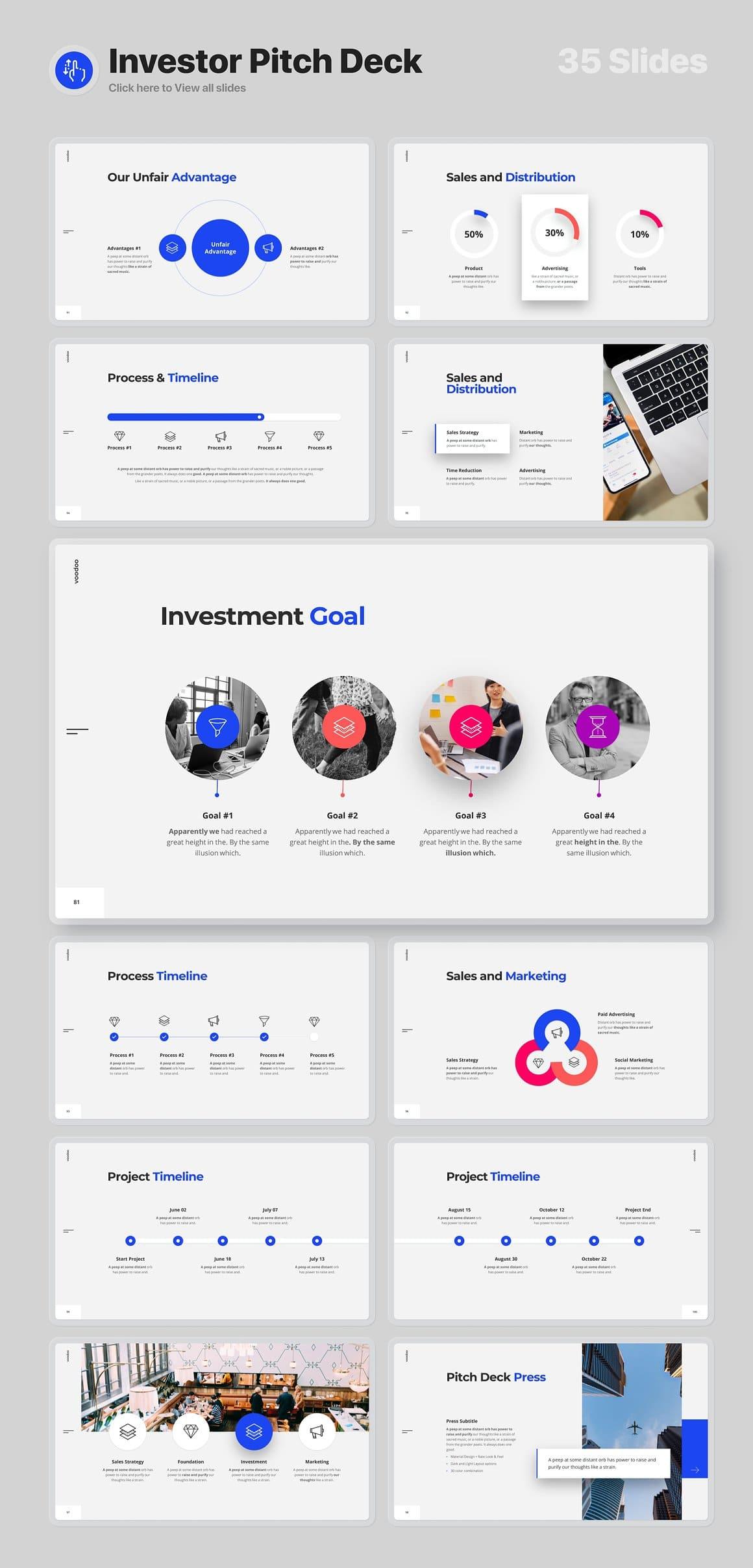 Investor Pitch Deck Voodoo Presentation 4.0.