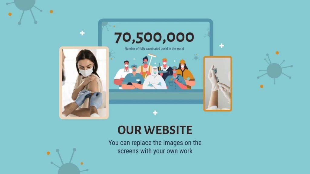 Our website. Presentation of COVID-19 Vaccine Breakthrough.