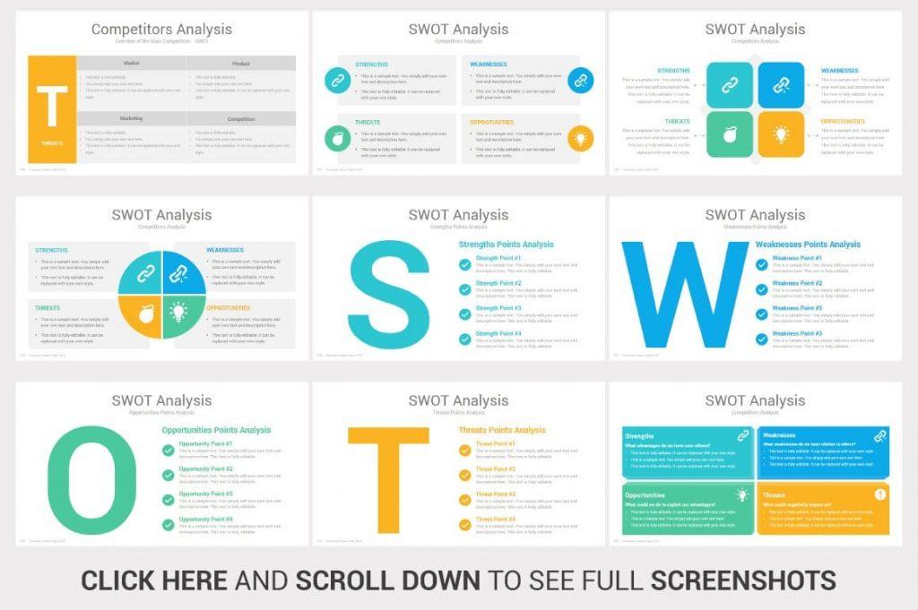 SWOT Analysis Investors PowerPoint Pitch Decks.