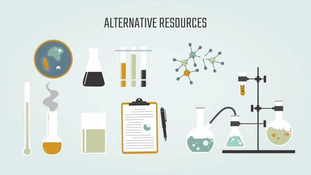 Slide Alternative Resources.