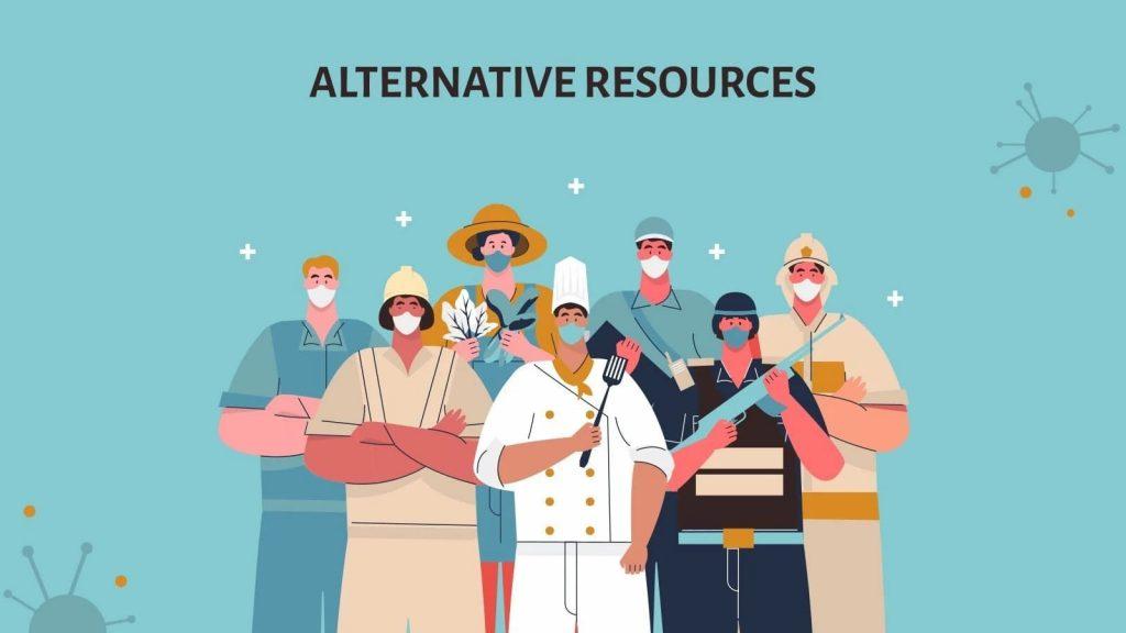 Alternative resources. Presentation of COVID-19 Vaccine Breakthrough.