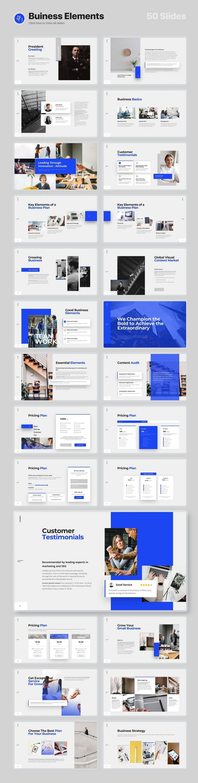 50 Slides Business Elements Voodoo Presentation 4.0.